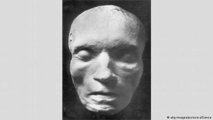 Deutschland Die Totenmaske von Beethoven