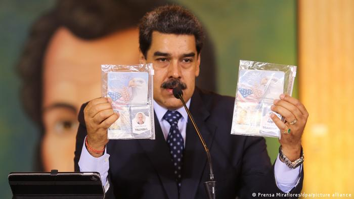 El presidente de Venezuela, Nicolás Maduro, en conferencia de prensa. (Archivo).
