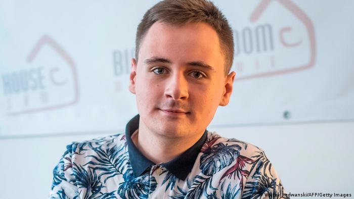 Stepan Putilo fundó los canales Nexta en Telegram.