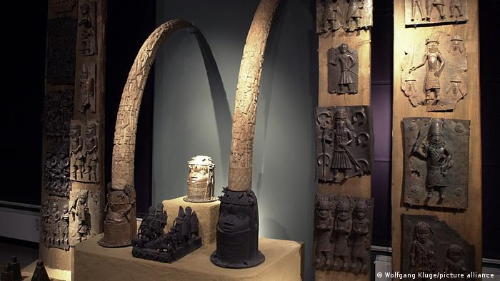 Artifacts from Benin in Leipzig