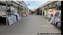 Polenmarkt in Slubice Autorin und Zulieferung: Agnieszka Hreczuk