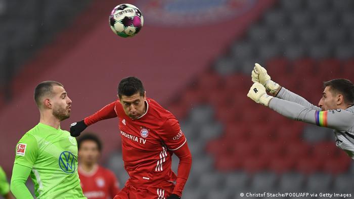 Deutschland Fussball Bayern München gegen VfL Wolfsburg
