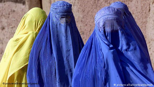 Flash-Galerie Afghanistan Frauen in traditioneller Burka
