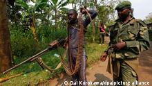 Mai-Mai Milizen im Kongo