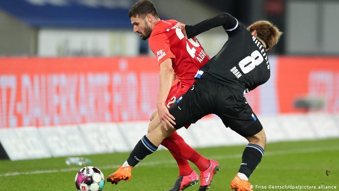 Fußball Bundesliga 12. Spieltag   Arminia Bielefeld - FC Augsburg