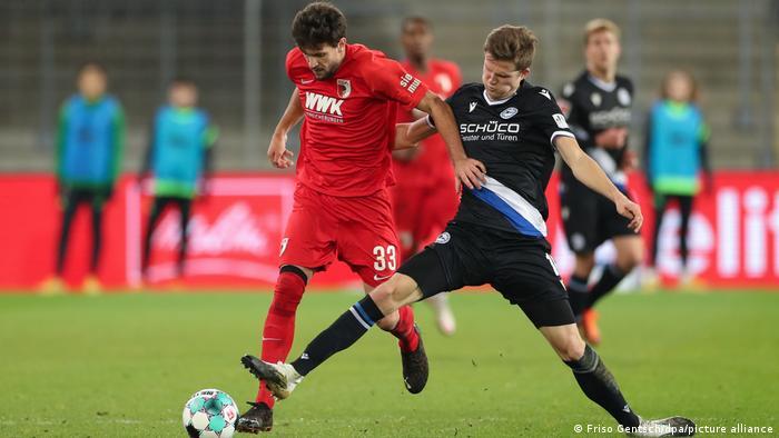 Bielefeld contra Augsburgo