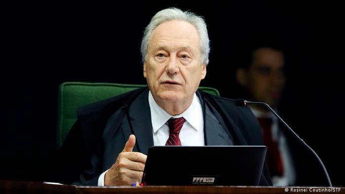 Ministro Ricardo Lewandowski, do Supremo Tribunal Federal