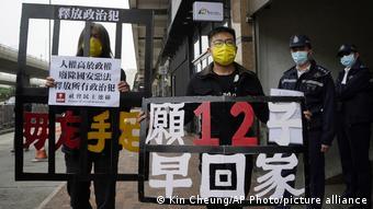 Hongkong Protest Demokratiebewegung