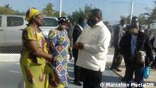 Ossufo Momade, RENAMO's party leader Copyright: Marcelino Mueia/DW Schlagwörtern: FRELIMO, RENAMO, Zambezia, Mosambik, Paulino Lenço, Ossufo Momade