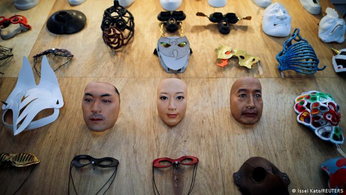 Japan Tokio Masken Kamenya Omote