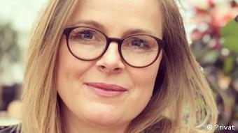 Датская журналистка Кирстине Хольст