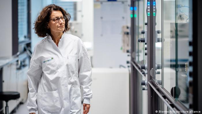 Özlem Türeci - medizinische Geschäftsführerin des Biotechnologie-Unternehmens Biontech