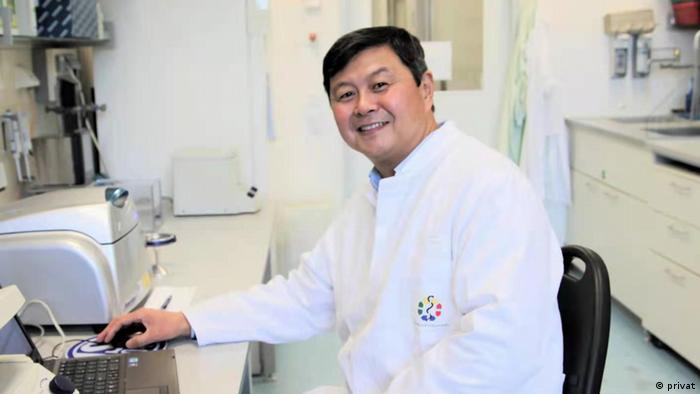 Deutschland Virologe Lu Mengji Uniklinikum Essen