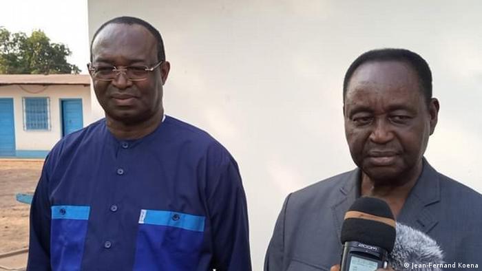 Zentralafrikanischen Republik, Bossangoa | Anicet-Georges Dologuélé und François Bozizé