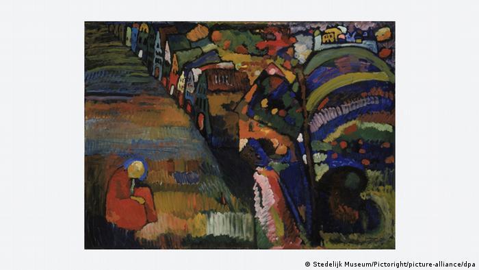Wassily Kandinsky | Bild mit Häusern
