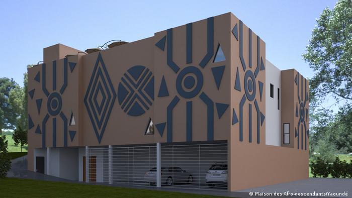 La maquette du projet une maison pour Afro-descendants qui sera installée à Youandé.
