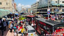 Kenia Nairobi Markt