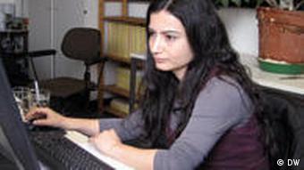 Manal Wannus - syrische Studentin