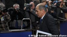 Brüssel slowenische Premierminister Janez Jansa