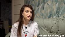Darya Losik | Ehefrau von Igor Losik | weißrussischer Oppositioneller