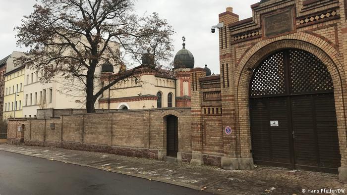 Sinagoga u Halleu koja je napadnuta 9. listopada 2019.