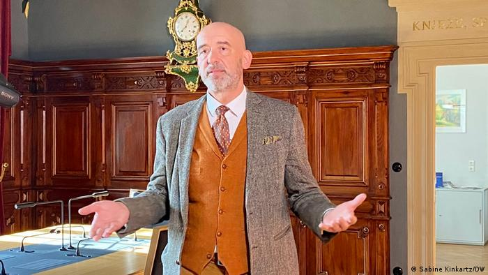 Bautzen's mayor, Alexander Ahrens