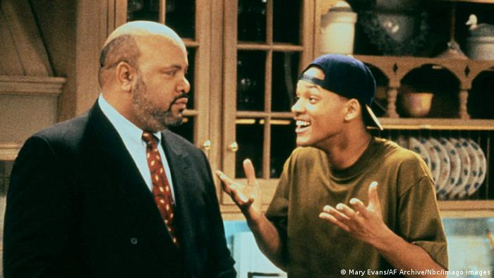 TV series The Prince of Bel-Air: James Avery and Will Smith