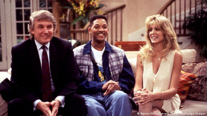 TV series The Prince of Bel-Air: Donald Trump, Will Smith and Marla Maples
