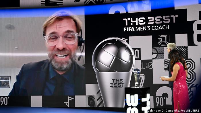 The Best FIFA Football Awards | Jürgen Klopp FC Liverpool