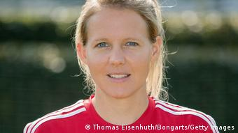 Friederike Kromp, coach of the girl's under-17 German national team
