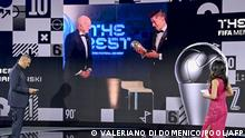 The Best FIFA Football Awards | Robert Lewandowski FC Bayern München Weltfußballer