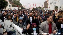 Tunesien | Proteste in Sidi Bouzid | Arabischer Frühling