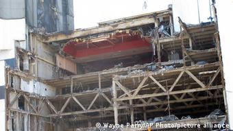 Parte del hotel y casino de Trump ya se encontraba en ruinas