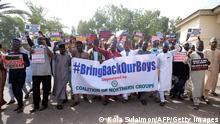 Nigeria Boko Haram entführt Schüler