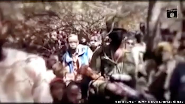 Estudantes raptados pelo Boko Haram na Nigéria
