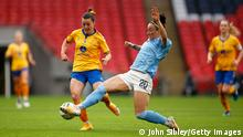 Everton v Manchester City - Vitality Women's FA Cup - Lucy Bronze