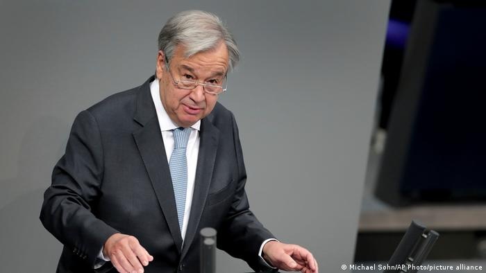 Deutschland UN-Generalsekretär Guterres im Bundestag