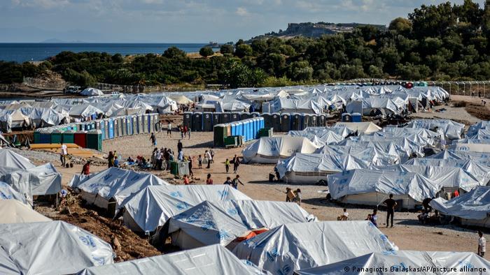 Griechenland Flüchtlingslager Kara Tepe auf Lesbos