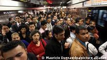 Kolumbien Bogota Streik im öffentlichen Nahverkehr 2010