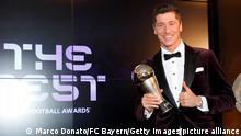 Deutschland Fußball FC Bayern München FIFA Men's Player 2020 Robert Lewandowski