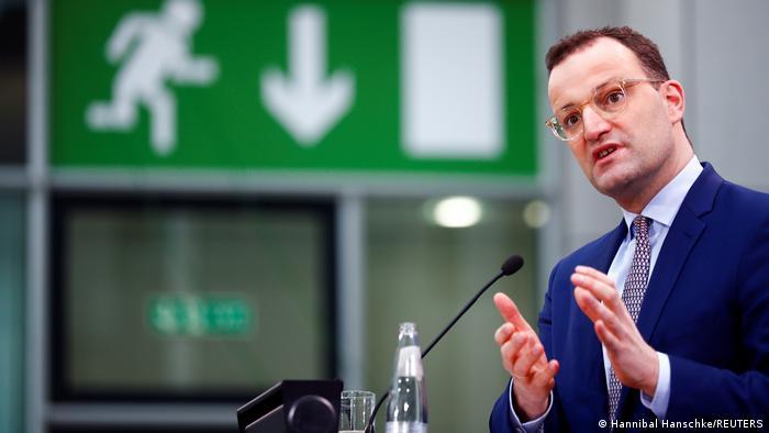 Berlin   Pressekonferenz: Jens Spahn