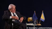 Screenshots Buchvorstellung Christian Schwarz-Schilling in Landesvertretung Hessen in Berlin