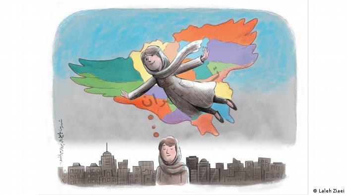 لاله ضیایی رویای تهرانی را دارد که می توانست بال پرواز او باشد