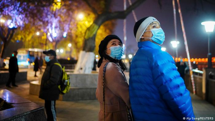 China Wuhan   COVID-19-Überlebende   Duan Ling und Ehemann