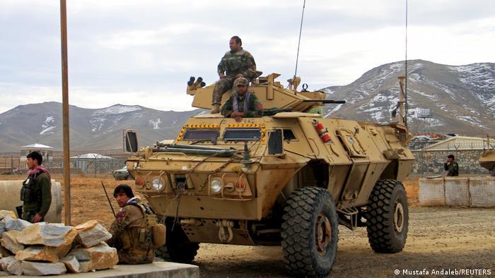 Soldados de la Armada Nacional de Afganistán perdieron este 12 de agosto sus posiciones de control de Ghazni