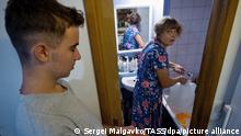 Wasserknappheit auf der Krim