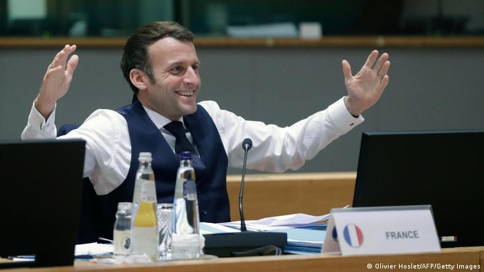 Brüssel | EU Gipfel | französischer Präsident Emauel Macron