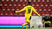 Fußball Bundesliga Union Berlin - Borussia Dortmund | Youssoufa Moukoko