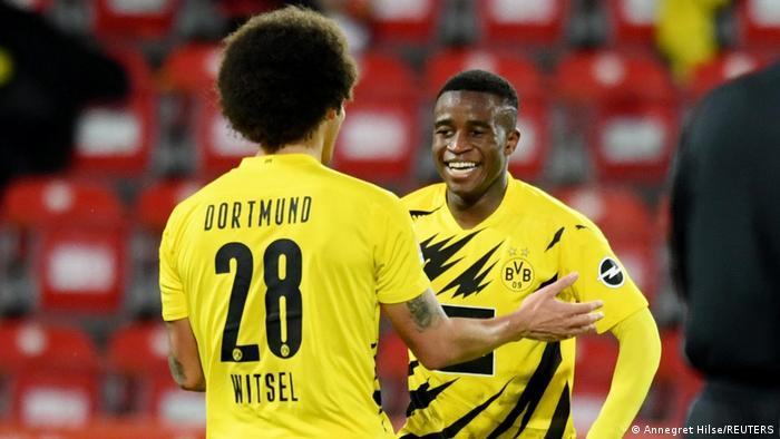 Fußball Bundesliga Union Berlin - Borussia Dortmund   Youssoufa Moukoko