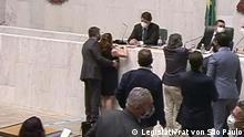 Brasilien Sitzung im Legislativrat von São Paulo